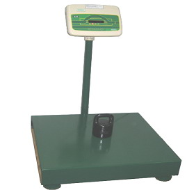 Platform scales for static weighing KODA-P  SINGLE modification